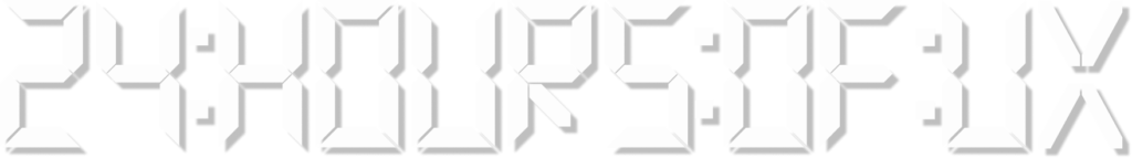 24 hours of UX logo
